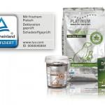 TÜV Rheinland zertifiziert PLATINUM-Hundenahrung